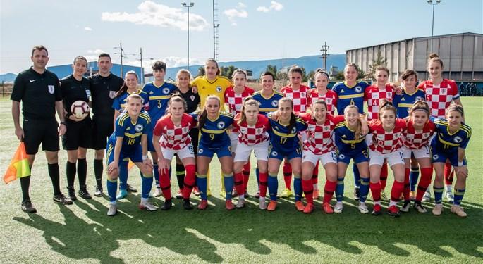 Hrvatska U-19 u drugom susretu remizirala s BiH