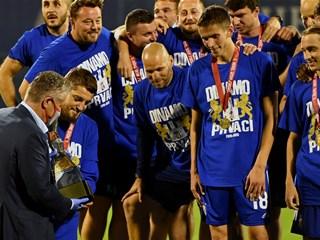 Dinamo naslovom prvaka okrunio sjajnu sezonu