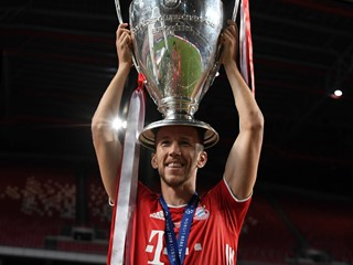 Perišić wins Champions League with Bayern