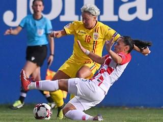 Hrvatska ženska reprezentacija protiv Rumunjske i Italije