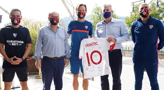 Davor Šuker posjetio Ivana Rakitića uoči europskog Superkupa