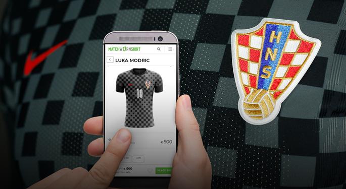 Kupite nošeni dres Vatrenih s utakmice protiv Portugala!