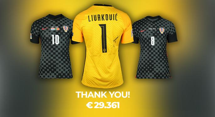 Nošeni dresovi Vatrenih dostigli cijenu od skoro 30 tisuća eura!