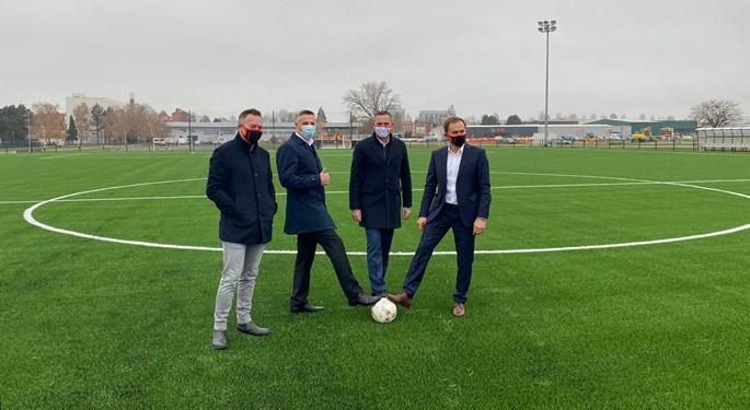 Otvoreno novo pomoćno igralište SRC-a Mladost