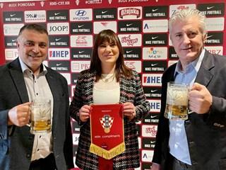 Dogovoren nastavak suradnje HNS-a i Zagrebačke pivovare