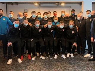 Dalić i Srebrić posjetili futsalsku reprezentaciju