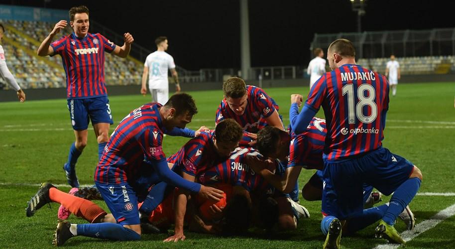 Video: Umut donio, Kalinić sačuvao novu pobjedu Hajduka kod Rijeke