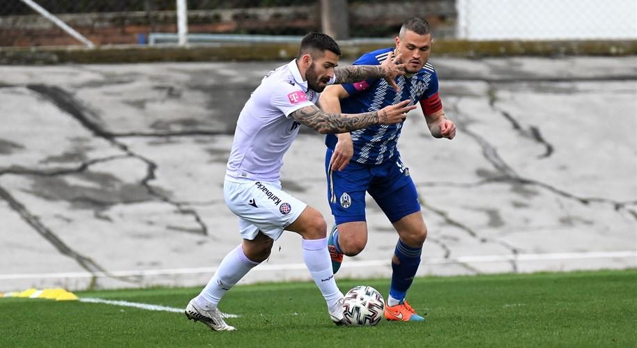 Video: Lokomotiva i Hajduk pobjedama se poravnali s Osijekom na vrhu poretka