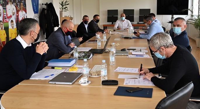 Održana konstituirajuća sjednica Komisije nogometnih sudaca HNS-a
