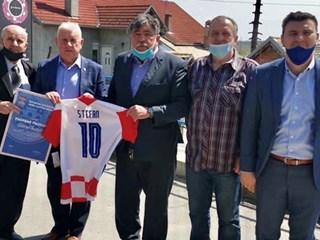Rudolf Štefan 25 godina na čelu Nogometnog središta Donji Miholjac