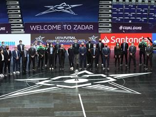 Uefa čestitala na organizaciji završnice futsalske Lige prvaka u Zadru