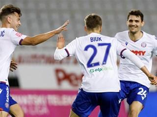Video: Hajduk uvjerljiv protiv Gorice, pobjeda Rijeke, Varaždinu bod kod Dinama