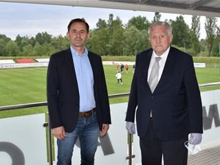 Srebrić i Kljajić ispratili U-21 reprezentaciju u Maribor