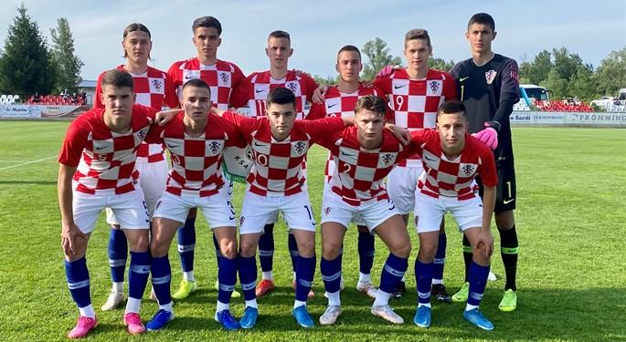Šaranić donio pobjedu Hrvatskoj U-18