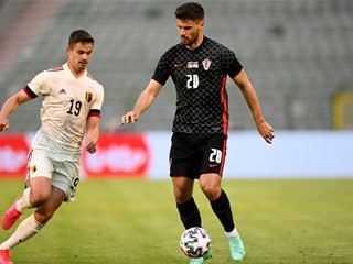 Lukaku's goal separates Belgium and Croatia