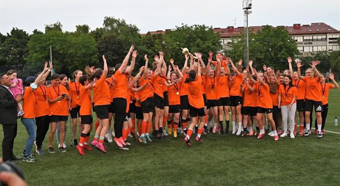 Pionirke i kadetkinje ŽNK Agram prvakinje Hrvatske!