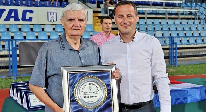 Nagrade za životno djelo Nikoli Planincu i Tomici Desoviću
