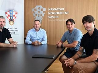 Marijan Kustić održao sastanak s Pletikosom, Dalićem i njegovim pomoćnicima