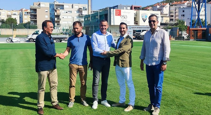 Hybrid pitch installation in Šibenik successfully completed