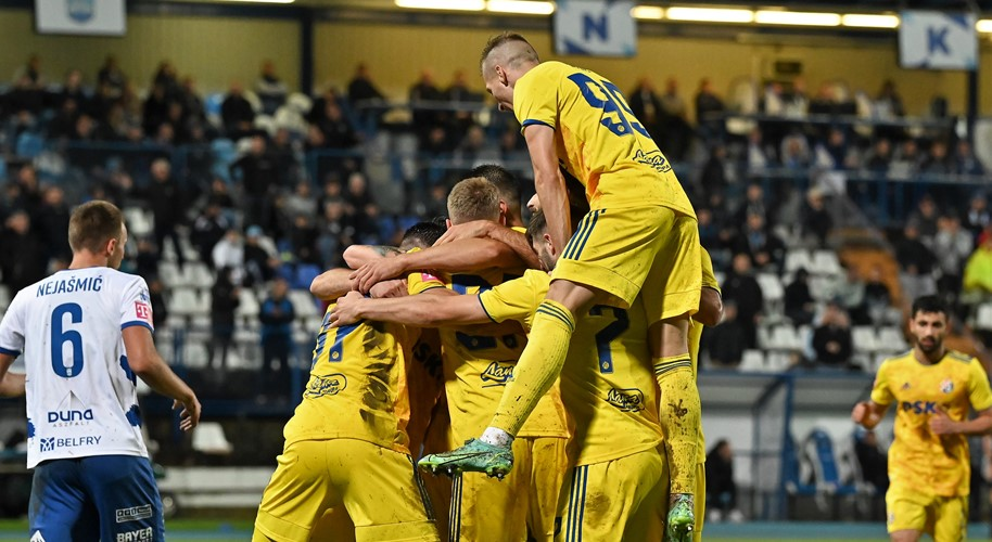 Video: Dinamo pobijedio u Osijeku, Rijeka u Splitu