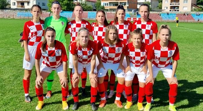 Hrvatska ženska U-19 reprezentacija odigrala prijateljske susrete s BiH