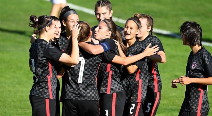Hrvatska ženska U-17 reprezentacija uvjerljiva protiv Armenije