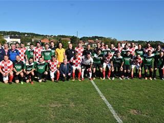 Veterani HNS-a uveličali 75. obljetnicu prve nogometne utakmice u Pregradi