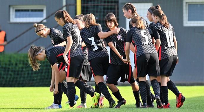 Hrvatska ženska U-17 reprezentacija deklasirala Kazahstan