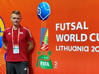 Nikola Jelić sudi polufinale SP-a u Litvi