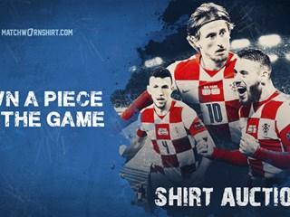 Kupite nošene dresove Vatrenih s utakmice protiv Slovačke