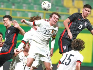 Hrvatska U-18 reprezentacija poražena od Belgije