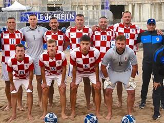 Nogomet na pijesku: Hrvatska treća na turniru u Francuskoj