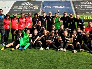 Hrvatska ženska U-19 reprezentacija izborila završni krug kvalifikacija za Euro