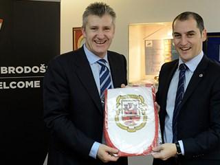 Predstavnici NS Gibraltara gosti HNS-a