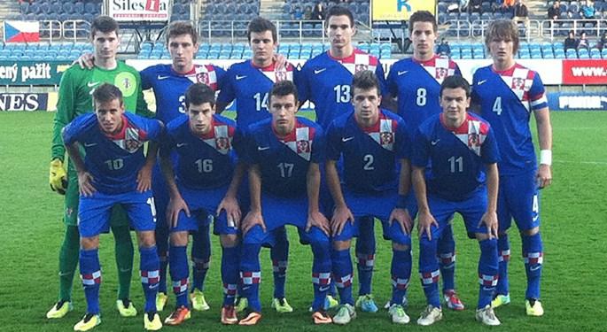 Hrvatska U-19 izgubila od Češke i završila treća