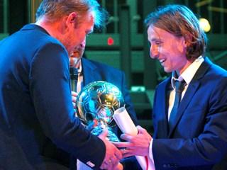 Luka Modrić osvajač nogometnog Oscara