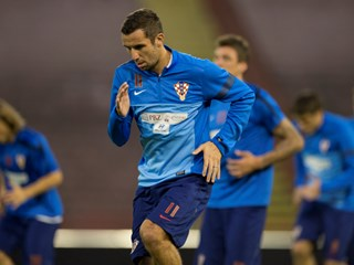 Croatian training-session at Marakana