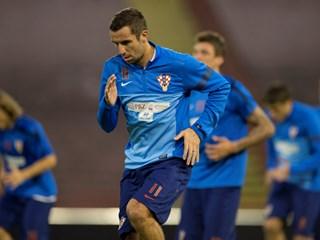 Trening Hrvatske na Marakani