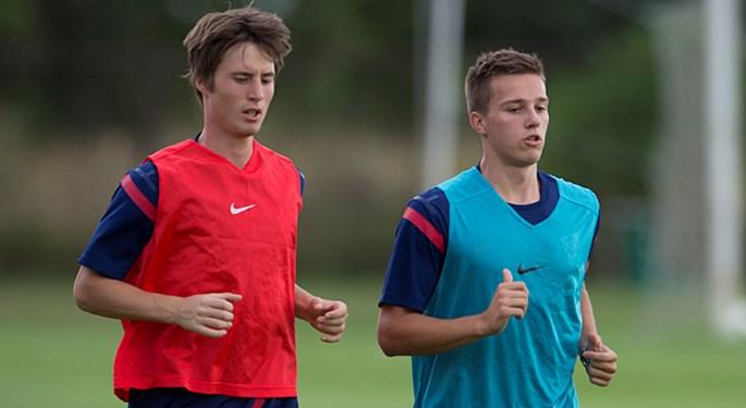 Trening U-21 reprezentacije uoči Ukrajine#Under 21 team prepares for Ukraine